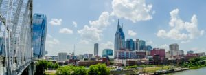 Header - Nashville Skyline with Bridge